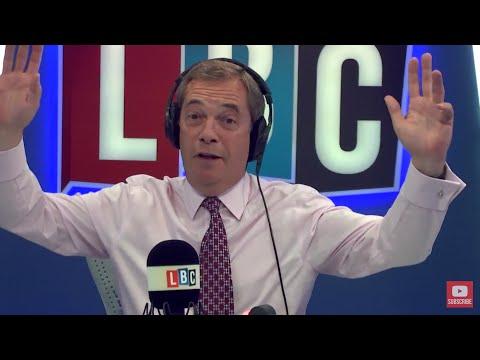 The Nigel Farage Show: EU citizens after Brexit. Live LBC - 26th June 2017