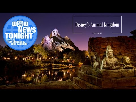 WDW News Tonight Episode 49 (4/26/2017) - Animal Kingdom 19th Birthday