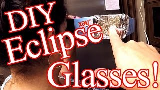 DIY - Solar Eclipse Viewing Glasses!