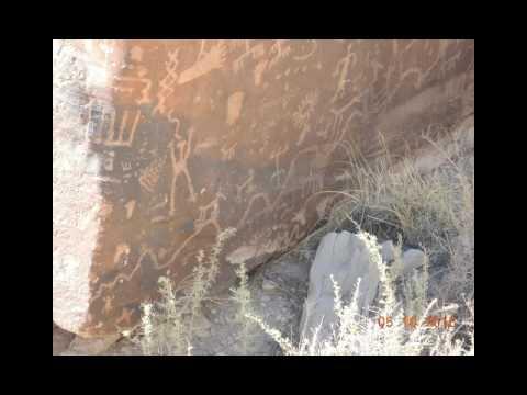 Petrified Forest NP - Petroglyphs