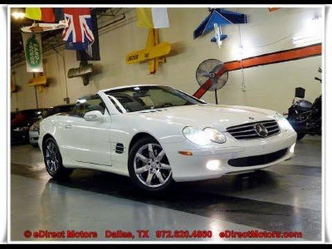 2003 Mercedes Benz Sl500 Premium Edirect Motors Youtube