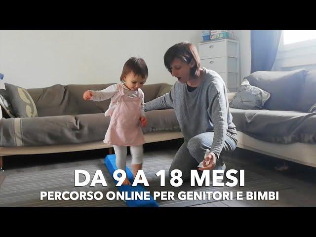 Giochi e attività per bambini di 1 anno: percorso online Primi passi e Prime conquiste