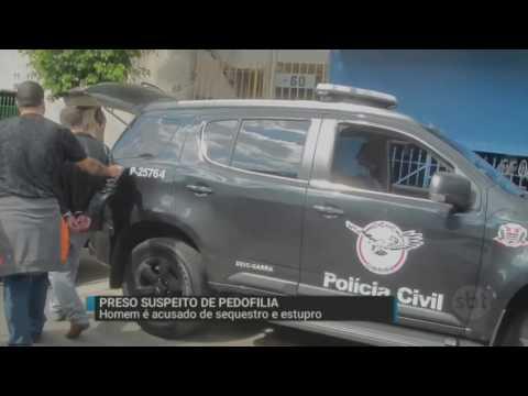 SBT Brasil (16/05/16) Homem acusado de sequestro e estupro é preso em São Paulo