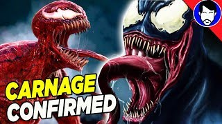 CARNAGE & More Symbiotes CONFIRMED for VENOM Movie by Tom Hardy