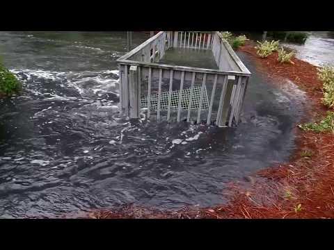 Hurricane Irma Storm Surge at Sea Pines Country Club Hilton Head Island Cathie Rasch & Associates