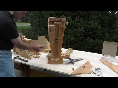 EDM Tracer II Chainsaw Guide, Post & Beam Notching Jigs, #1 of 3, Husqvarna, Stihl, Wood-Miser