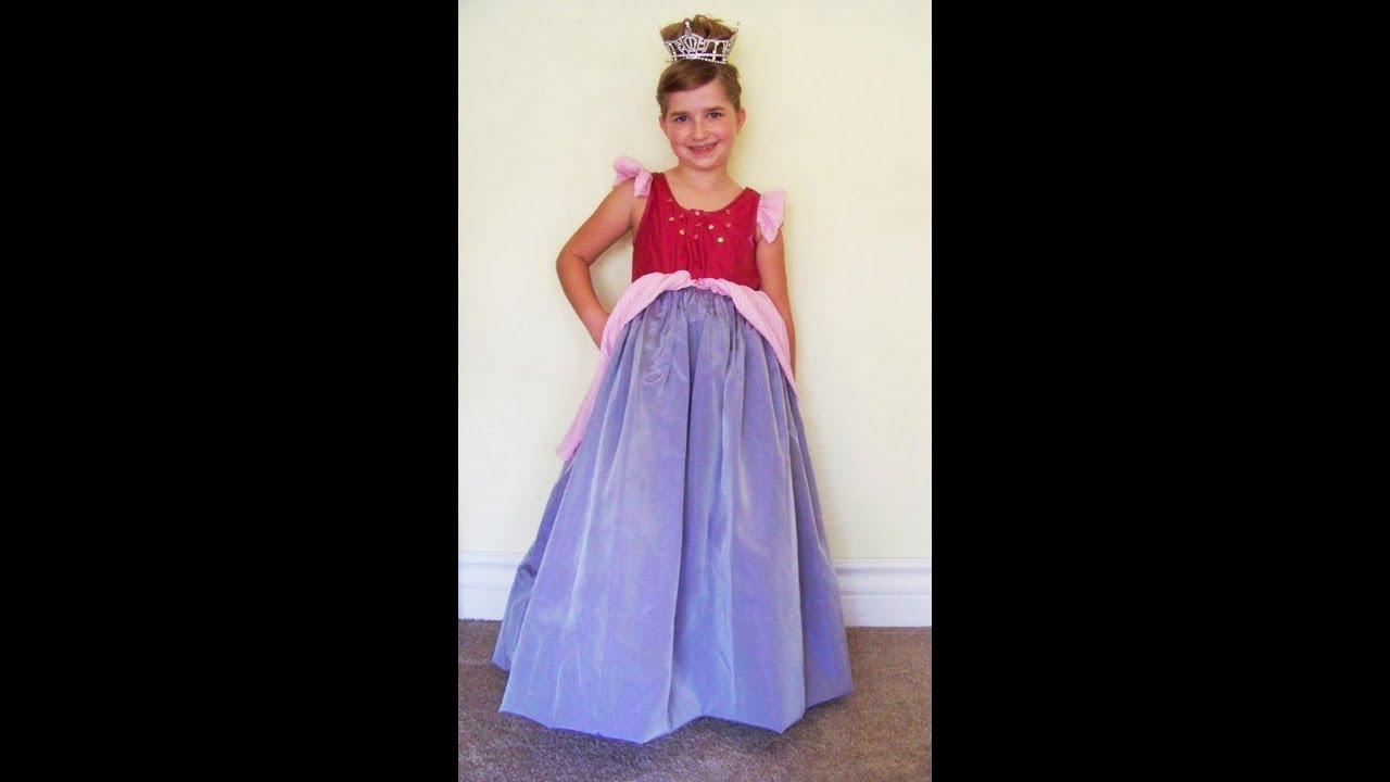 Chic on the Cheap: Make a Princess Ball Gown - YouTube