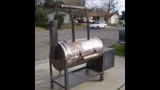 Bbq Smoker Build Vid