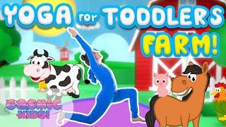 Yoga Time!   On The Farm   Cosmic Kids
