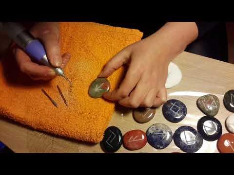 Как изготовить руны из камня. Часть I