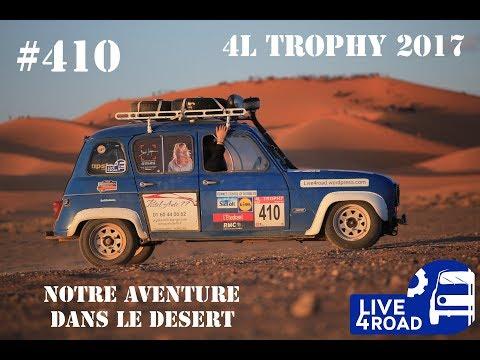 4L TROPHY 2017 #410 Live 4 Road