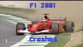 F1 2001 crashes