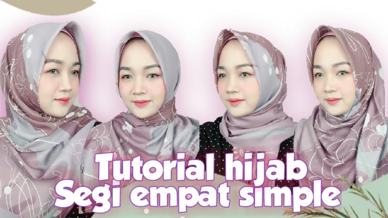 Video Tutorial Hijab Segi Empat Simple Dan Modis