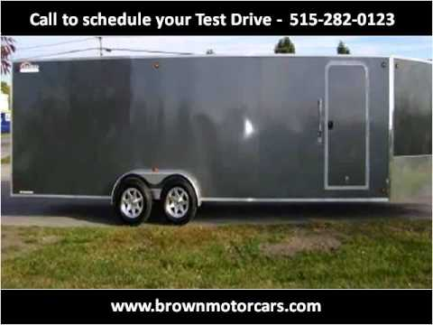 2012 Trailer Enclosed Trailer Used Cars Des Moines IA