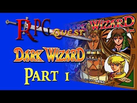 RPG Quest #123: Dark Wizard (Sega CD) Part 1