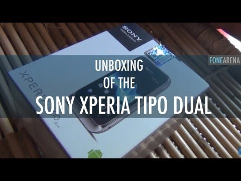 Sony XPERIA tipo Dual - Dual SIM Phone Unboxing
