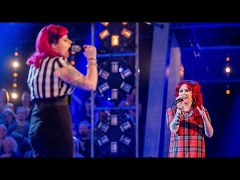 Vicky Jones Vs Melissa: Battle Performance - The Voice UK 2014 - BBC One