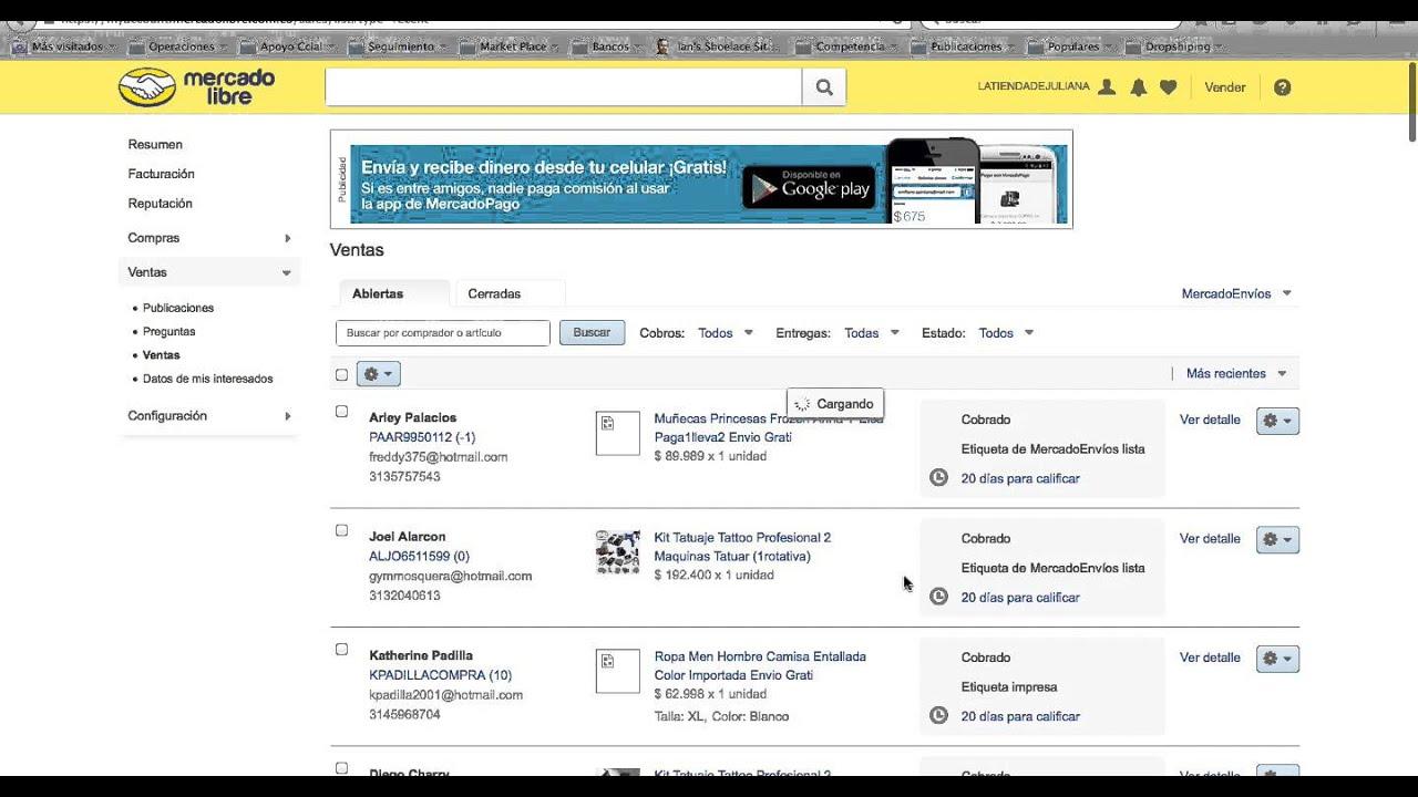 925a6163d Ver el numero de la guia - MercadoLibre - YouTube