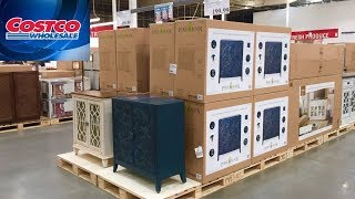 COSTCO FURNITURE TABLES CHAIRS DRESSERS HOME DECOR 2020 SHOP WITH ME SHOPPING STORE WALK THROUGH 4K