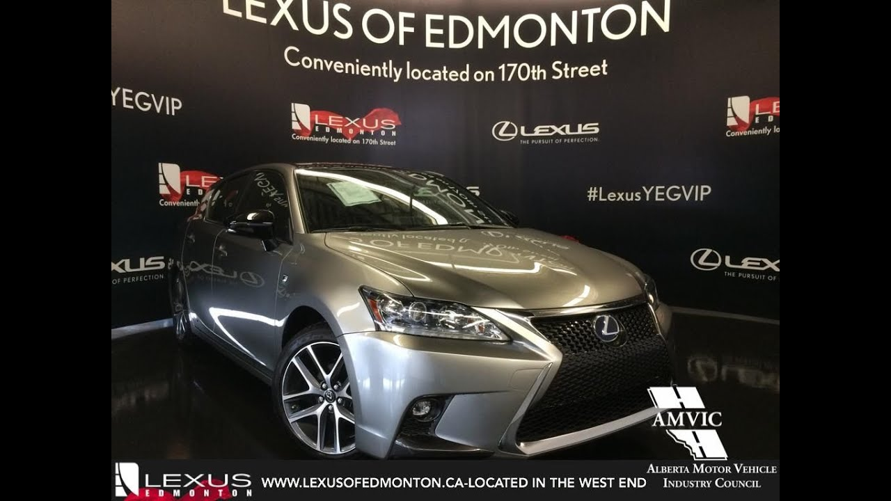 2017 lexus ct 200h fwd hybrid f sport review youtube. Black Bedroom Furniture Sets. Home Design Ideas