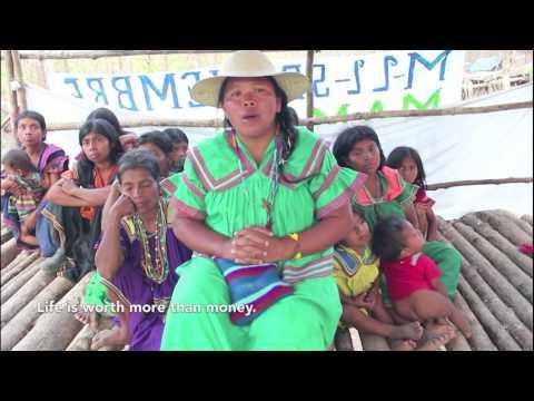 Panama's Barro Blanco dam floods out native people