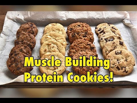 Muscle Building Protein Cookies!