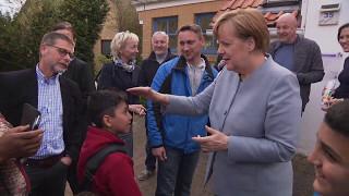 """Angela Merkel bei Flüchtlingen: """"Ich weiß nicht, ob sie das verstehen"""""""