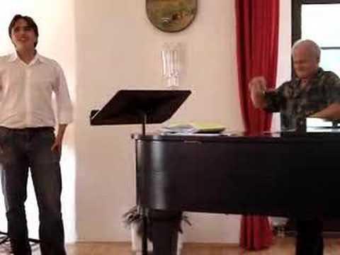 Maestro Antonio Carangelo Masterclass: Elisir d'amore
