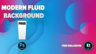 Modern Fluid Effect #1 - Nasıl Yapılır - Adobe Photoshop CC 2019