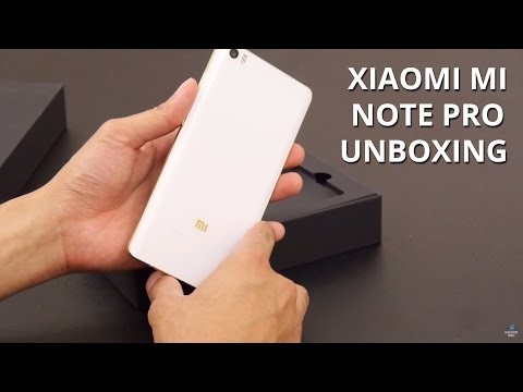 Xiaomi Mi Note Pro unboxing