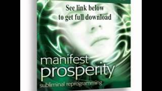 Manifest Prosperity Consciousness Attract Wealth Kelly Howell Brain Sync
