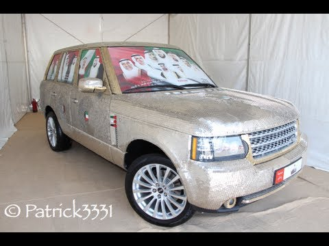 "Range Rover ""Money"" covered by 57.412 coins"