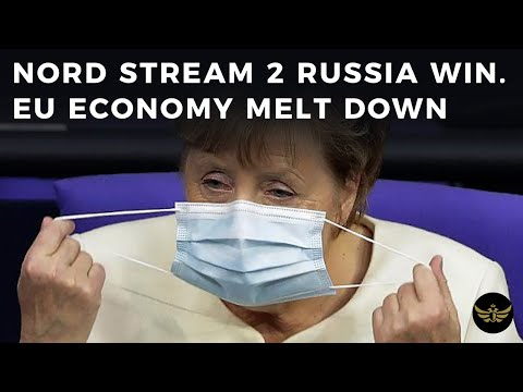 Nord Stream 2 win for Russia. EU clown leaders talk sanctions as economy melts