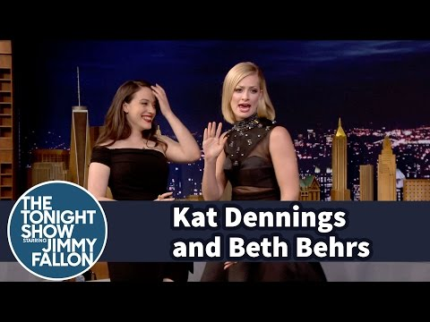 Beth Behrs Raps an Anti-Drug PSA with Kat Dennings