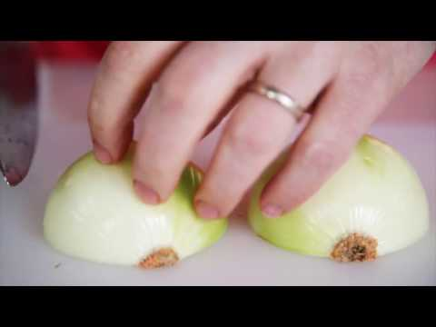 How to chop an onion - BBC Good Food