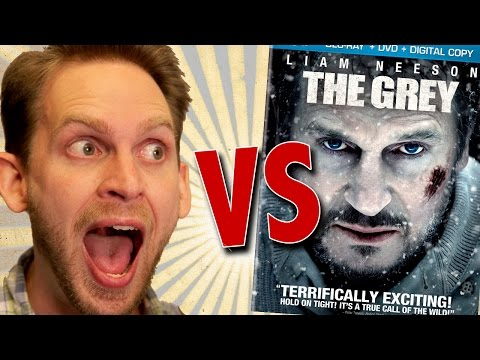 The Grey Blu Ray Unboxing