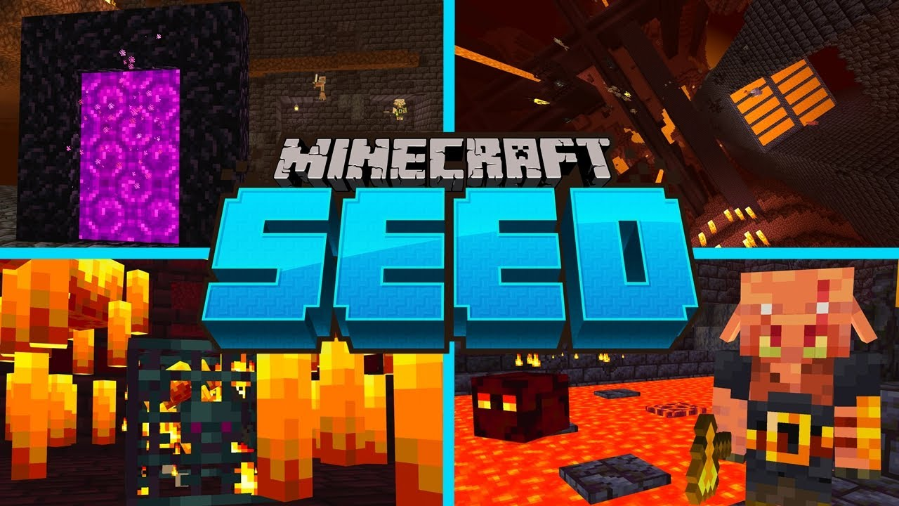 The PERFECT NETHER SPAWN SEED For Minecraft 10.106  Bastion & Fortress  Spawn! (PE, Xbox, PS10, Switch)