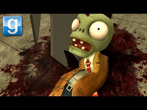 I KILLED THE PvZ ZOMBIES | Gmod Sandbox