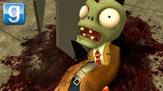 I KILLED THE PvZ ZOMBIES | Gmod Sandbox