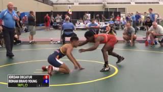 54kg f, Match 1, Roman Bravo Young, AZ vs Jordan Decatur, OH