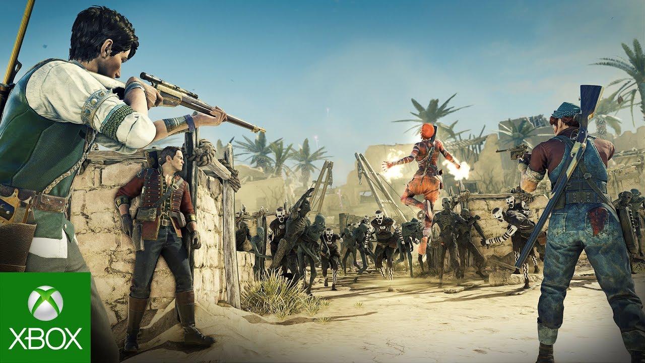 Strange Brigade - Co-op Gameplay Trailer   Xbox One