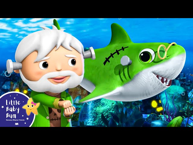 Baby Shark Dance Halloween Special | Halloween Shark Song + More Nursery Rhymes | Little Baby Bum