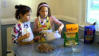 Kids Cooking Healthy - Quinoa Crunch Bars