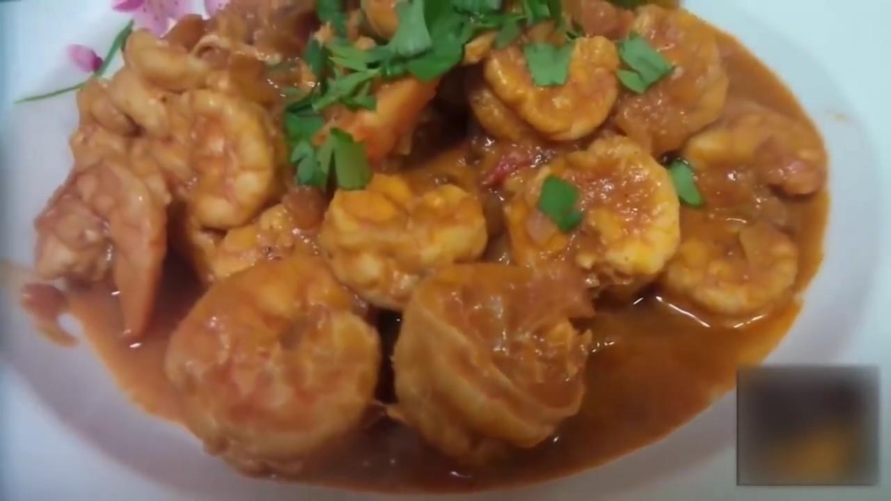 طريقة عمل ايدام الروبيان How To Make Shrimp With Tomato Sauce Youtube