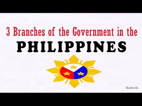 3 Branches of the Philippine Government