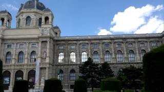 Natural History and Art History museums, Maria Theresa Statue, Vienna city center, Austria