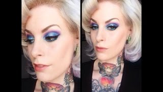 Electric Eyes Makeup Tutorial with Kandy K