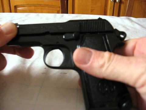 Smontaggio di una Beretta 34 in calibro 7,65