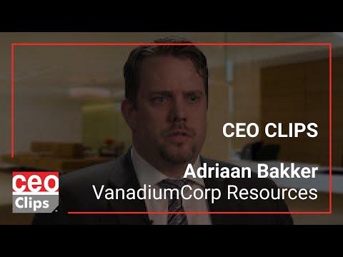 High Grade Vanadium - VanadiumCorp