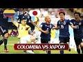 Colombia 1 - 2 Japón | Resumen y goles I Colombia vs Japon